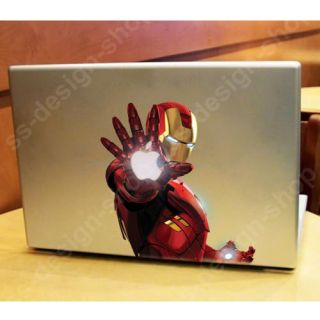 Marvel Heroes Iron Man Aufkleber Macbook Pro Air Hasbro
