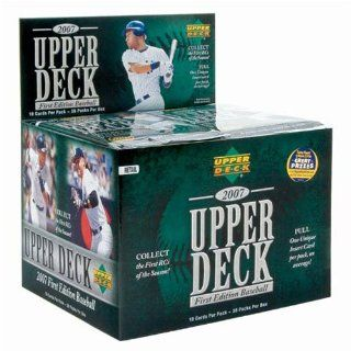 2007 Upper Deck First Edition Baseball Trading Cards