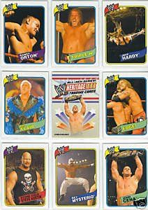 2007 Topps Heritage III  WWE Wrestling Trading Card Set