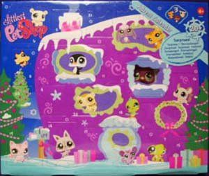Littlest Pet Shop Figures Exclusive 2008 Advent Calendar