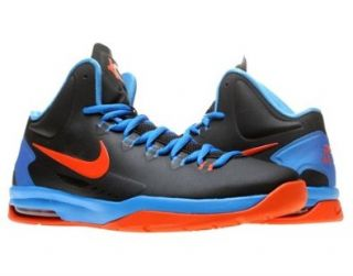 Nike KD V (GS) Boys Basketball Shoes 555641 002 Black 6 M US Shoes
