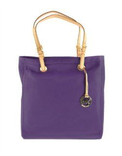 MICHAEL Michael Kors Jet Set Leather Tote PURPLE 30T91TTT3L Shoes