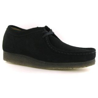 Clarks Wallabee Black Suede Womens Shoes Size 11 US Shoes