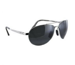 Maui Jim PILOT 210 17 Silver/Neutral Grey Clothing