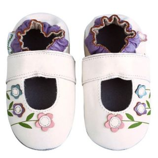 Soft Sole Leather Shoes   Lilies Sandals White (18 24 Months) Shoes
