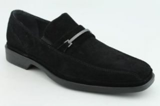 Calvin Klein Benny Mens SZ 9.5 Black Shoes Shoes