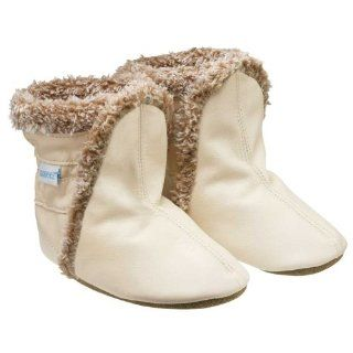 com Robeez * Cream * Booties Soft Sole Baby Shoes 18 24 months Shoes