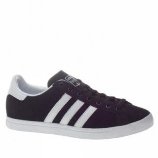 Adidas Trainers Shoes Mens Court Star Black Shoes