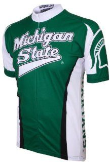 NCAA Michigan State Spartans Cycling Jersey Sports