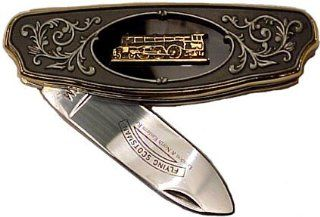 Franklin Mint Flying Scotsman Collector Pocket Knife