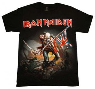 Iron Maiden The Trooper Album Cover Band T Shirt Tee