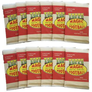 NFL Topps Magic 2009 Trading Card Packs (Box of 12)