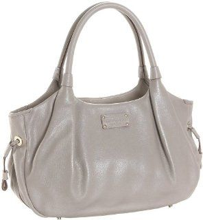 Kate Spade Darien Gloss Stevie Satchel,Oyster,one size Shoes