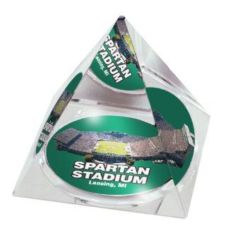 NCAA Michigan State Spartans Stadium Crystal Pyramid