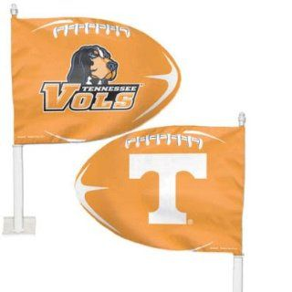 TENNESSEE VOLUNTEERS OFFICIAL LOGO CAR FLAG Sports