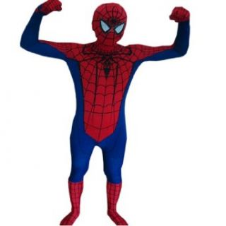 The New Amazing Spiderman Lycra Zentai Suit Fancy Dress