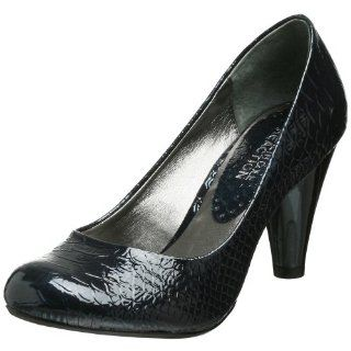 Kenneth Cole REACTION Womens Inner Space Pump,Midnight,4 M US Shoes