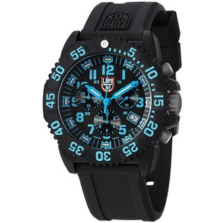 Luminox Mens Colormark Black Dial Chronograph Quartz Watch