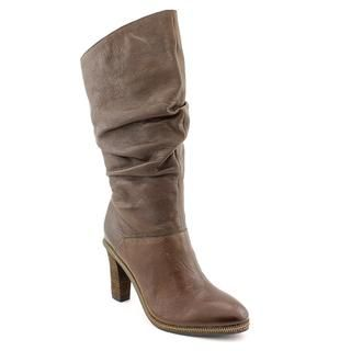 Calvin Klein Jeans Womens Makayla Leather Boots