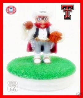 TEXAS TECH MASCOT MASON JAR COIN, CANDY, CANDLE COVER