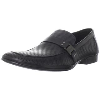 Kenneth Cole New York Mens Optical Illusion Leather Loafers