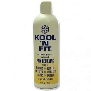 Kool N Fit Pain Relieving Spray Formula 16 oz. Refill