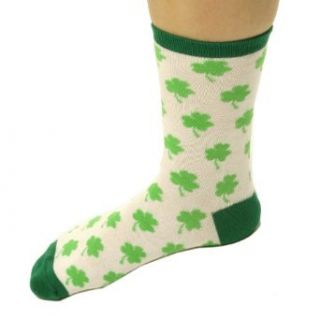 St. Patricks Day Womens Socks (1 pair) Party Accessory