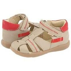 Primigi Kids Snape (Infant/Toddler) Beige Leather Sandals