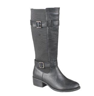 CHELSEA Womens buckle dress tall horse riding boots slim Shoes