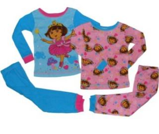 Nickelodeon Dora the Explorer Girls Pajamas 2 pack (2t 5t