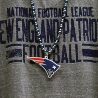 New England Patriots NFL Team Logo Medallion Beads