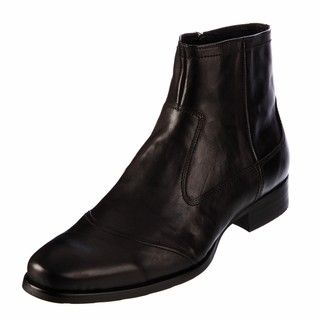 Kenneth Cole New York Mens City Bound Black Leather Boots FINAL