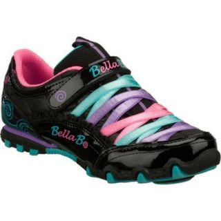 Girls Skechers Bella Ballerina Prima Sweet Spun Black/Multi