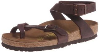 Birkenstock Womens Yara Leather Ankle Strap Sandal Shoes