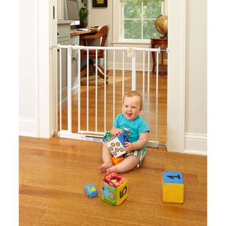 North States Easy Close Metal Gate with Two Extensions
