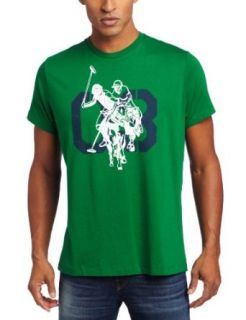 U.S. Polo Assn. Mens Screenprinted T Shirt Clothing