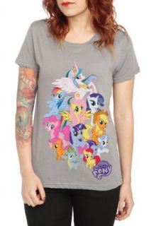 My Little Pony Group Girls T Shirt Clothing