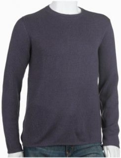 Prada Mens Cashmere Crew Neck Sweater, Purple, Size 54