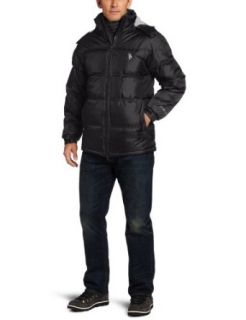 U.S. Polo Assn. Mens Signature Bubble Jacket With Small