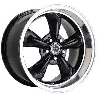 17x10.5 American Racing Torq Thrust M (Gloss Black w/ Machined Lip