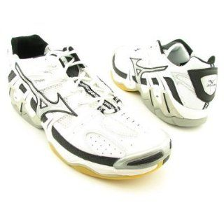 TORNADO 2 MENS SHOE VOLLEYBALL 9.5 WHITE/BLACK SILVER (MZ M112) Shoes