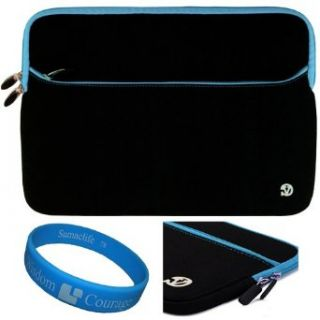 Blue Trim Durable Protective Neoprene Laptop Sleeve for