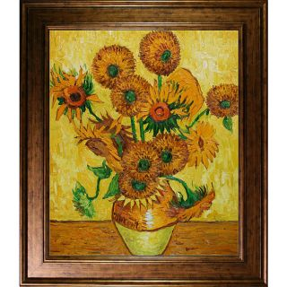 Vincent van Gogh Sunflowers Canvas Art Oil Painting