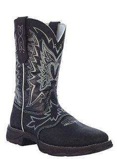 Boots Western Lady Rebel Let Love Fly RD4410 Womens Black Shoes