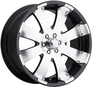 Ultra Wheels Mako RWD Type 243 Black Wheel with Diamond Cut (20x9