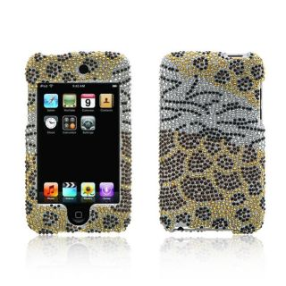 Apple iPod Touch Mixed Animal Design Full Diamond Case