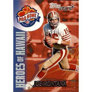 2000 Topps Joe Montana # 142 San Francisco 49rs Collectibles