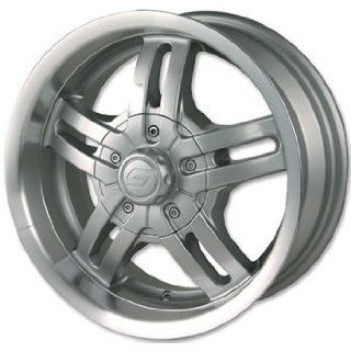 Ion Alloy 12 Silver Wheel with Machined Lip (15x6/6x139.7mm)