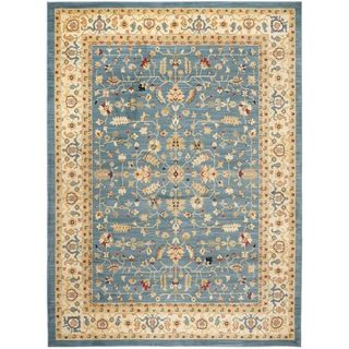 Farahan Light Blue/ Cream Rug