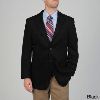 Pronto Moda Mens Wool/ Cashmere Blend Sportcoat